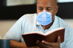 Quarantined man miraculously completes Bible reading plan
