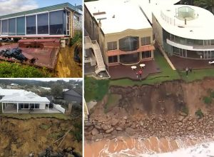 Biblical illiteracy causes collapse of coastal houses during flood