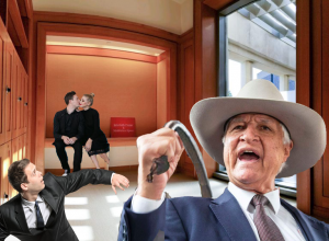 Katter uses whip to drive out fornicators from Parliament prayer room
